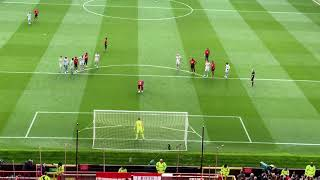 Paul Pogbas 19th minute penalty against West Ham