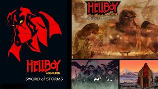 Hellboy Animated ~ Sword Of Storms 2006 music by Christopher Drake
