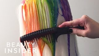 Dripping Dye Is The New Way To Color Hair
