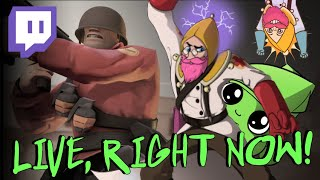STREAMING RIGHT NOW! TF2 Alternative Gamemodes (For a Day) - TF2 Thursday