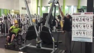 Marpo Kinetics - Functional Training - Dual Side Pull in Chair and Vert Pulldown Standing