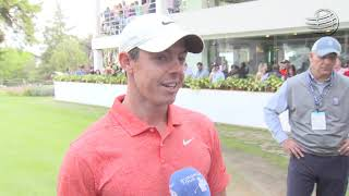 GOLF #WGCMexico - Rory McIlroy interview after he settles for a sixth runner-up finish