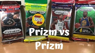 Opening Various Prizm Basketball Cards