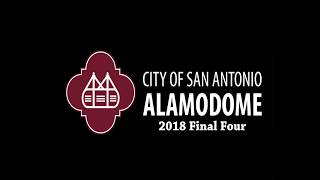 2018 Mens Final Four Time-lapse at the Alamodome
