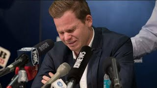 Steve Smith cries in a Press Conference, Takes all the blame of Ball Tempering on Himself.