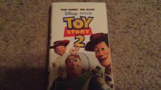 Toy Story 2 VHS Review