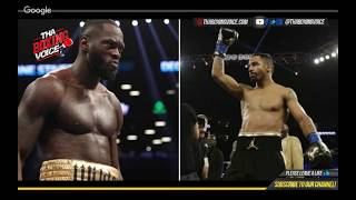 🔥Deontay Wilder Responds to Andre Ward Comments😱🤯💯