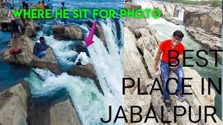 A Boy climbs to the waterfall for photo |vlog 1| |marvin hindustani|