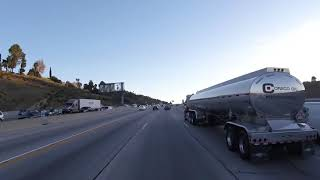 Los Angeles, I-405 South through Sepulveda Pass
