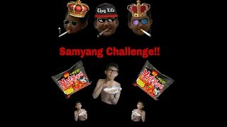 Pedes banget !!!! Samyang Challenge (With My Friends)