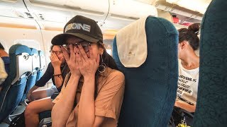 Her first time on an airplane - Life update