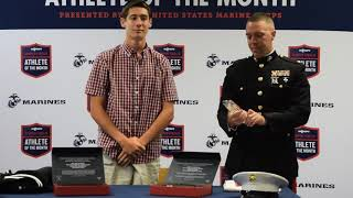 SHS's Cole Waddy named Marine Corps & MaxPreps Semper Fidelis Male Athlete of the Month 5/19