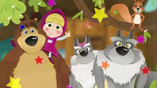 Finger Family Masha and The Bear - Nursery Rhymes Traditional Russian Tale