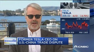 Fmr. Tesla CEO on electric vehicle growth