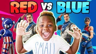 Red vs Blue  Only Creative With Friends
