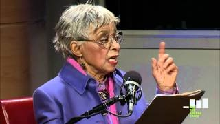 """Ruby Dee reads from """"Their Eyes Were Watching God"""""""