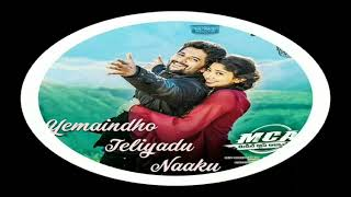 Yemaindho Teliyadu Naaku   Full Song MCA (2017) Telugu Movie = Nani & Sai Pallavi
