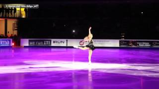 CAROLINA KOSTNER REGINA DELL'ICE GALA 2014