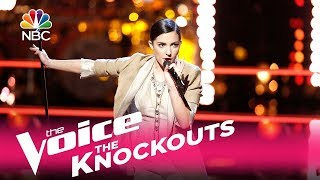 """The Voice 2017 Knockout - Lilli Passero: """"Tears Dry on Their Own"""""""