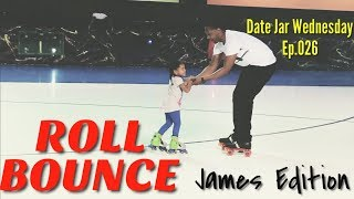 "CHECK OUT HUSBAND'S ""ROLL BOUNCE"" SKATING MOVES! - DATE JAR WEDNESDAY - EP.026"