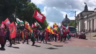 Cardiff's March for Independence 11/5/19