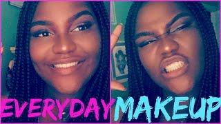 Doing my MAKEUP IN 2 MINUTES!!!