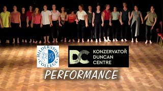 The 2019 Dance performance by Duncan Centre Conservatory students