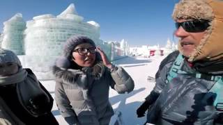 Exploring The Chinese Ice City Red Bull Shoot Behind The Scenes