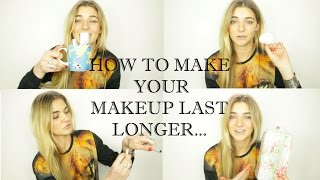 How To Make Your Makeup Last Longer | Carelle Says Hi