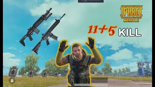 PUBG MOBILE \ Tpp \ 11+5 kill NEW BEE \