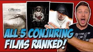 All 5 Conjuring Universe Films Ranked (w/ The Nun)