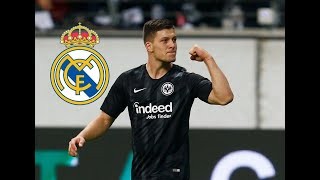 jovic welcime to Real Madrid
