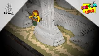 How to build a LEGO Stone Pillar [MOC] #8