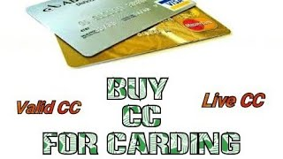 Buy Live CC Amazon Carding Method Tutorial 2019 - How to Buy Live and Working CC