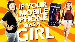 If mobile phone was a girl   OK Bye   If your cell phone was a girl   Latest Funny Video