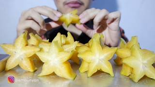 ASMR Eating Sound : Star Fruits