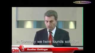 Günther Oettinger Funny Moments