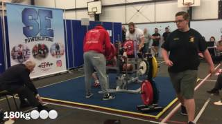 Ric Perfield | 662.5kg Total @88.3kg | GBPF South East Classic | 6th May 2017
