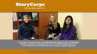 Sharing Entrepreneurial Adventures with StoryCorps®