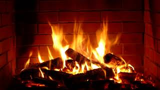 Fireplace - Full HD - 8 hours crackling logs for Christmas
