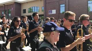 Northville High School Marching Band - Memorial Day Parade 2018