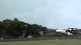 CLOSE UP Liat Takeoff from George F.L. Charles Airport [HD]