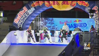 Red Bull Crashed Ice Takes Over Fenway Park