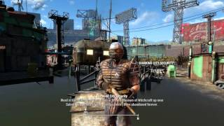 Fallout 4 - Diamond City Guard (Voice 1) - All Dialogue