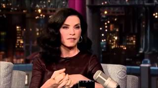 Julianna Margulies November 11, 2013 Late Show with David Letterman