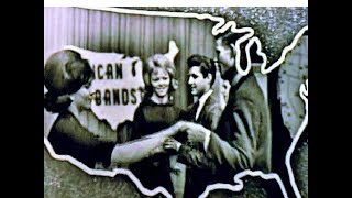 American Bandstand 1963 -Follow The Boys Promo- Memory Lane, The Hippies