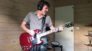 """AC/DC """"Highway To Hell"""" (Highway To Hell, 1979), Guitar Backing Track"""