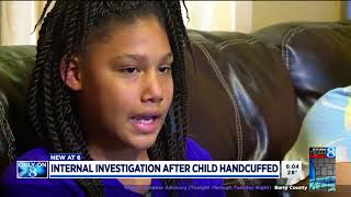 Pt. 2 Girl, 11, held at gunpoint and handcuffed by GRPD