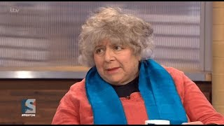 Miriam Margolyes drops the F word during live interview on Peston On Sunday