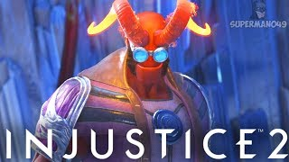 "EPIC HELLBOY GOES CRAZY! - Injustice 2 ""Hellboy"" Gameplay"